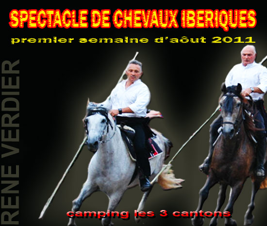 rene verdier spectacle chevaux